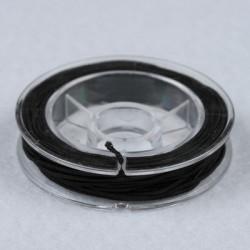 Elastična vrvica, Črna, 0,5mm x 5m