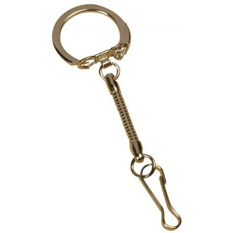 Obesek za ključe + karabin 10 kosov