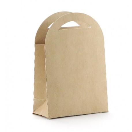 Darilne škatlice 70 x 100mm Kraft b. 6 kosov