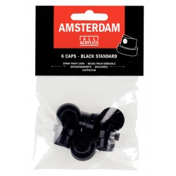 Rezervne kapice za Amsterdam sprej 6 kosov