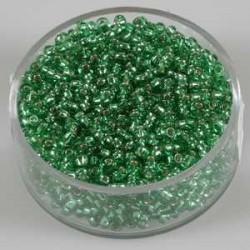 Srebrna sredica, svetlo zelene, 2,6mm 17g.
