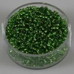 Srebrna sredica, lind zelene, 2,6mm 17g.
