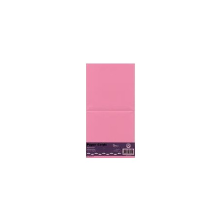 Voščilnica kvadratna 125 x 125mm, Pink, 5 kosov