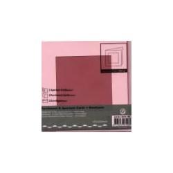 Voščilnica+paus p+kuverta 125x125mm kvadratni iz, Roza,3