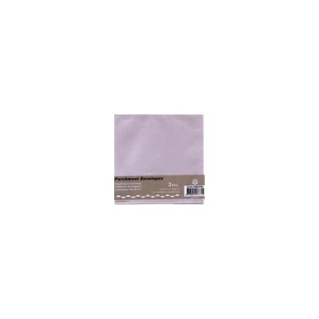 Paus kuverta za voš. 125x125mm, Srebrna, 3kosi
