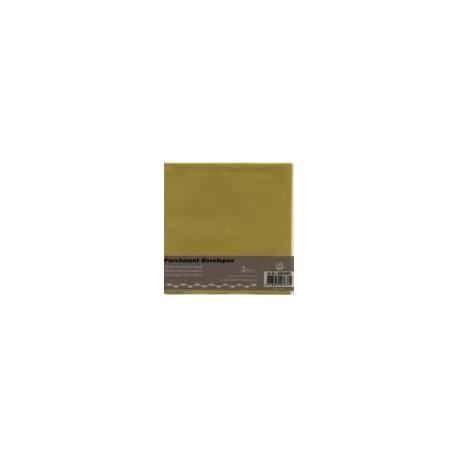 Paus kuverta za voš. 125x125mm, Rumena, 3kosi