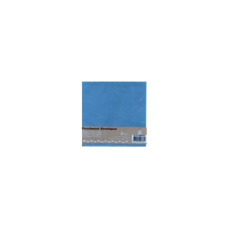 Paus kuverta za voš. 125x125mm, Modra, 3kosi