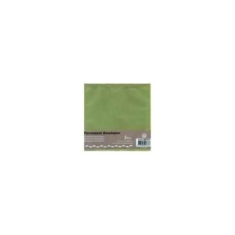 Paus kuverta za voš. 125x125mm, Zelena, 3kosi