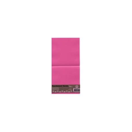 Voščilnica paus papir 125x125mm, Pink, 5kos