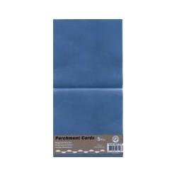 Voščilnica paus papir 125x125mm, Modra, 5kos