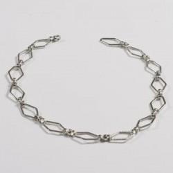 Verižica za nakit 50cm, Srebrne b.