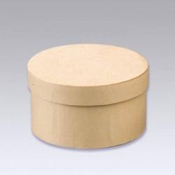 Kartonska šatulja okrogla 8 x 4 cm
