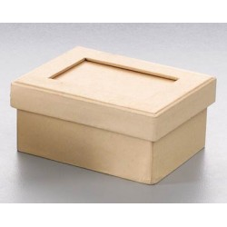 Kartonska šatulja s paspartujem pravokotna 11,6 x 8,5 x 5