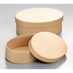 Kartonski šatulji ovalna 15,5 x 11,5 x 5,5cm/14 x 10 x 4,
