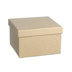 Kartonska šatulja kvadratna 10 x 10 x 6,5 cm