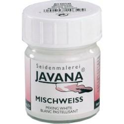 Javana bela barva za mešanje 50 ml