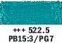 Van Gogh oljni pastel št. 522.5 Turquoise blue (art. 95865225)