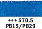 Van Gogh oljni pastel št. 570.5 Phthalo blue (art. 95865705)
