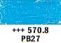 Van Gogh oljni pastel št. 570.8 Phthalo blue (art. 95865708)