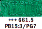 Van Gogh oljni pastel št. 661.5 Turquoise green (art. 95866615)