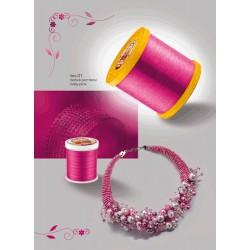 Barvasta žica Baby pink 0,8mm, 9m