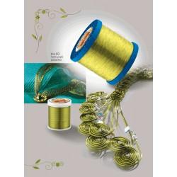 Barvasta žica Pistacija 0,8mm, 9m