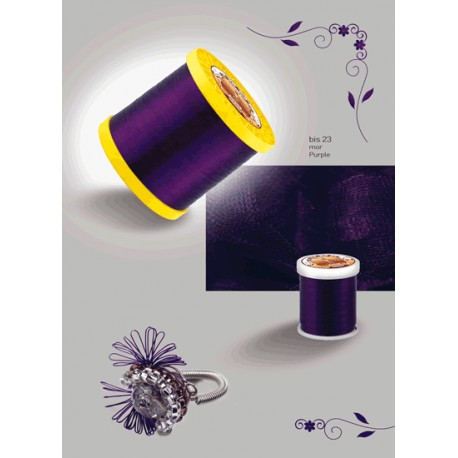 Barvasta žica Purple 0,5mm, 20m