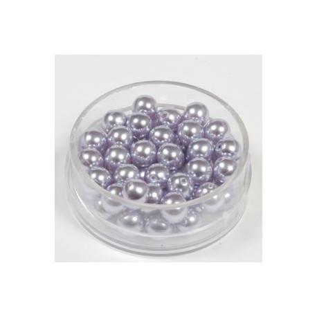 Voščene steklene perle 4mm, flider, 100kos
