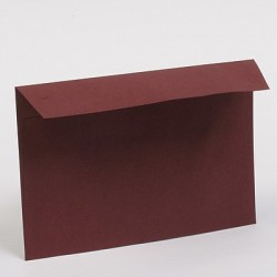 Kuverta 112 x 115mm, Vinsko rdeča 5 kosov