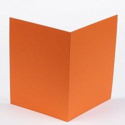 Voščilnica 148,5 x 210mm, Oranžna 5 kosov
