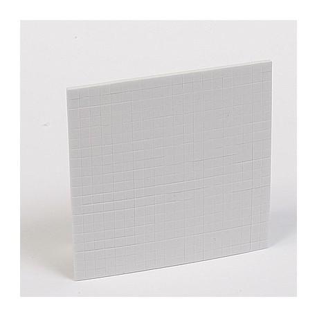 3D lepilne tablice 100x100x3mm (5x5mm), bele