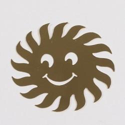 Kovinska šablona Sandy art Sonček 5cm