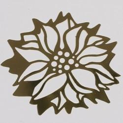 Kovinska šablona Sandy art Božična roža 7cm