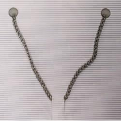 Metalna veriživa 1,9mm x 1m, Antracitne b.