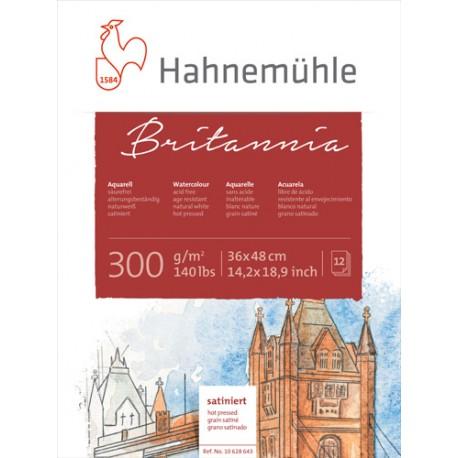 Akvarelni bloki Britannia 300g., 12 listov in posamezni listi ve