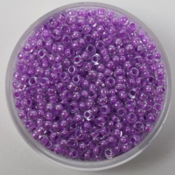 Perle 2,6mm barvna sredica Vijola , 17g