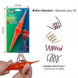 Priprava za oblikovanje žice