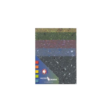 Eko papir v kompletu 8 listov, Granitne barve
