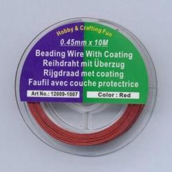Najlonska žica 0,45 x 10m, Rdeča