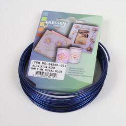 Aluminijasta žica 2mm x 5m, Kraljevsko modra
