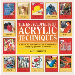 "Knjiga ""Acrylics technique encyclopedia"""