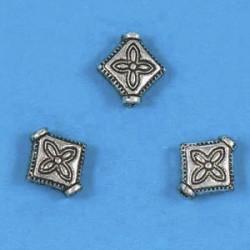 kovinske perle cca 9mm, srebrne b., 10kos