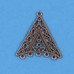 Kovinski ornamenti set 4, bakrene b.