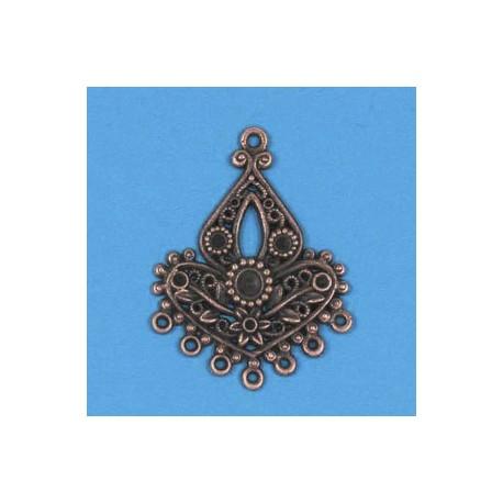 Kovinski ornamenti set 3, bakrene b.