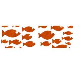 Šablona 22 x 67cm, Ribe