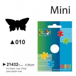 Luknjač Metulj mini cca 0,95cm