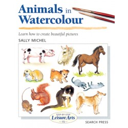 Knjiga LA 15 Animals in watercolour