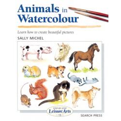 Knjiga LA 15 Animals in watercolour