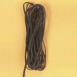 Velur vrvica 3mm x 5m, rjava