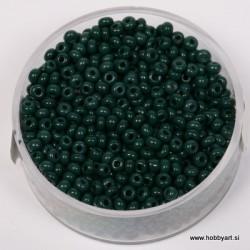 neprosojne temno zelene 2,6mm, 17g.